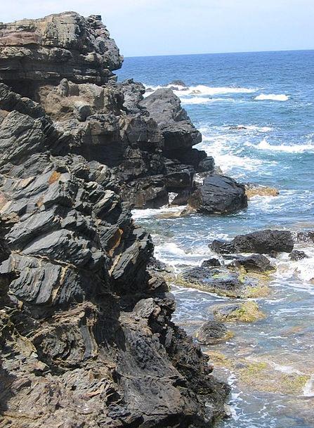 Rock Pillar Account Sea Marine Slate Stone Pebble