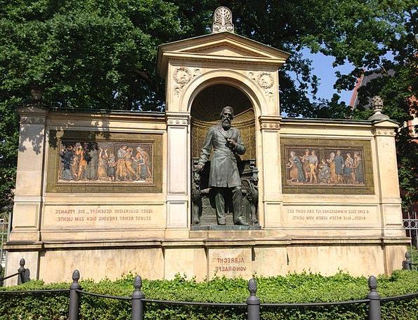 Albrecht Von Graefe Buildings Memorial Architectur