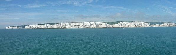 Chalk Cliffs Landscapes Nature Coast Shore Dover N