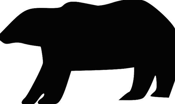 Bear Tolerate Outline Animal Physical Silhouette B