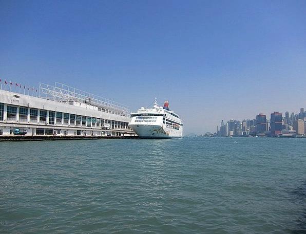 Hong Kong Ship Vessel Riverview