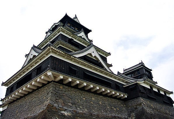Castle Fortress Heritage Inheritance Kumamoto