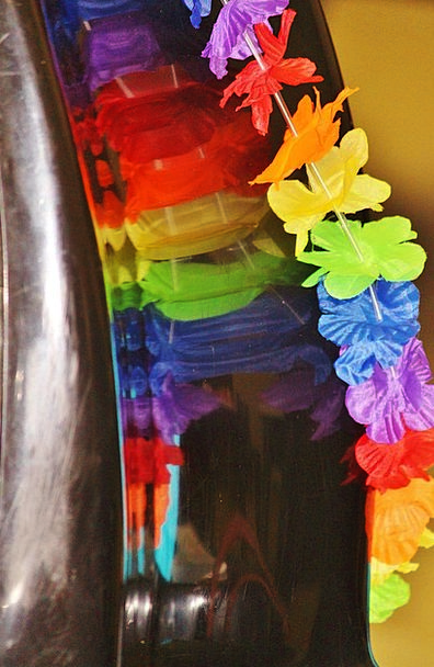 Garland Wreath Reflecting Colorful Interesting Mir