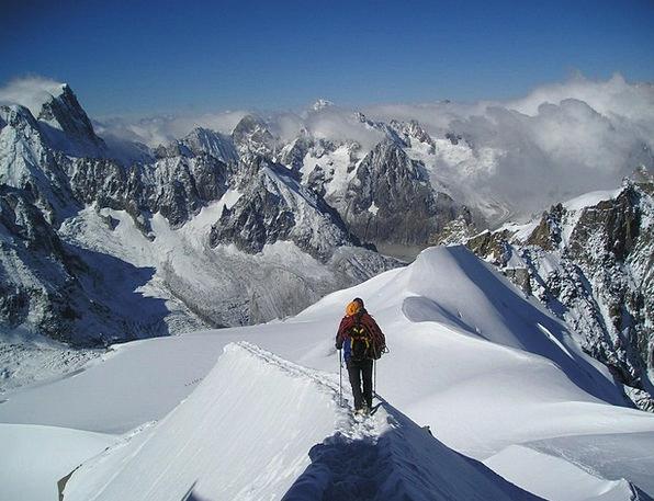 Grandes Choir Asses Alpine Mountainous Chamonix Sn