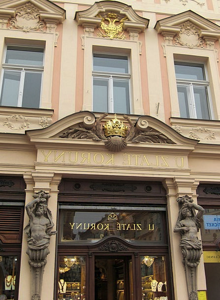 Prague Buildings Architecture Facade Frontage Czec