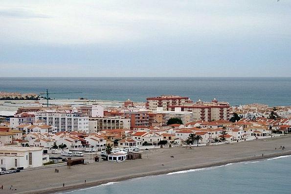 Calahonda Vacation Set Travel Beach Seashore Bank