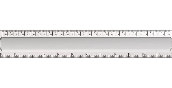 Inch Creep Monarch Measurement Dimension Ruler Cen