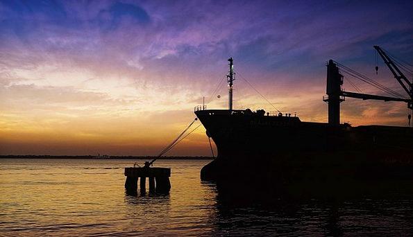 Ship Vessel Bethlehem Guajará Bay Porto