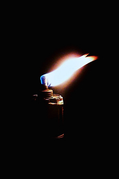 Flame Blaze Passion Light Bright Fire Glow Torch I