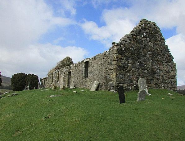Old Building Shells Old Church Ruins Ruin Old Grav