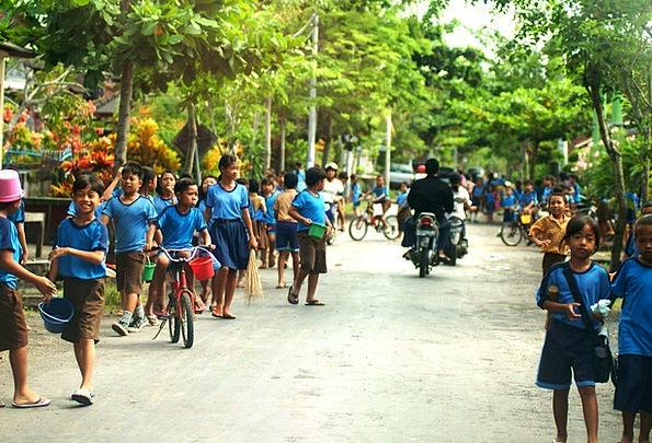 Bali Children School University Kids Village Islan