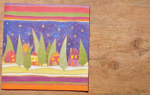 Christmas Napkin Textures Bib Backgrounds Wood Tim