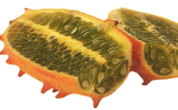 Kiwano Drink Tissue Food Horn Cucumber Pulp Eat Fr