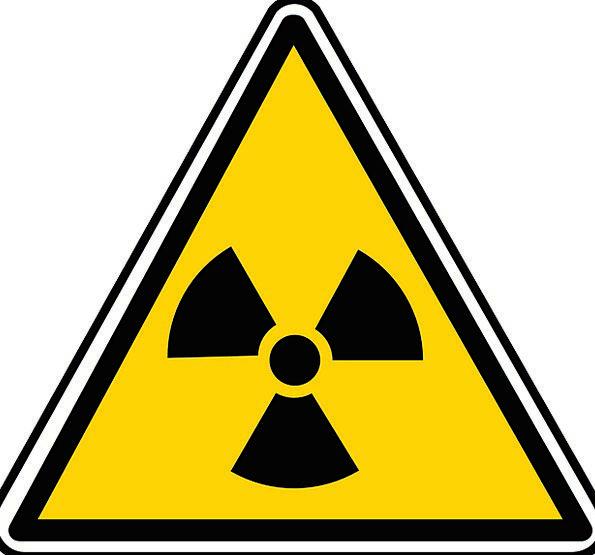 Sign Uranium Nuclear Industrial Atomic Radioactivi
