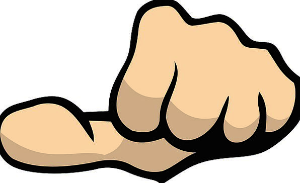 Thumb Scan Pointer Fist Fistful Hand Body Form Par