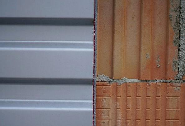 Wall Partition Pebble Metal Metallic Stone Brick E