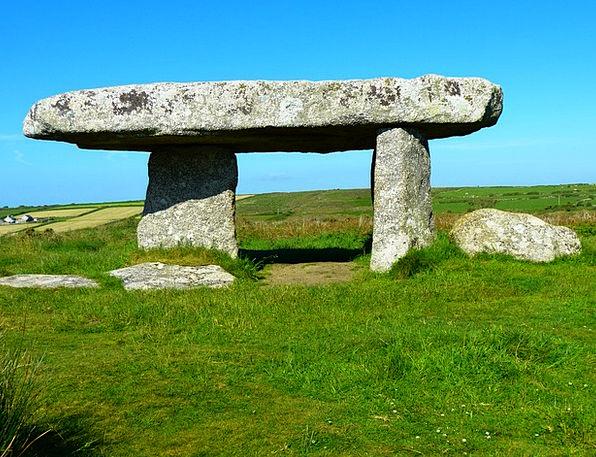Lanyon Quoit Megalith Quoit Giant'S Dolmen Giant'S