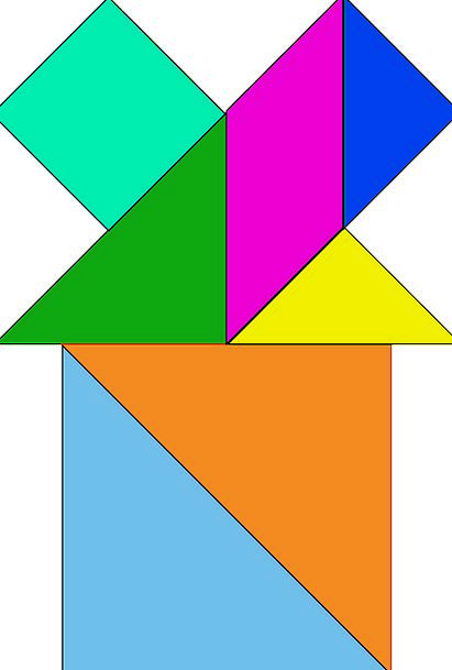 Tangram Buildings Mystery Architecture Chinese Puz