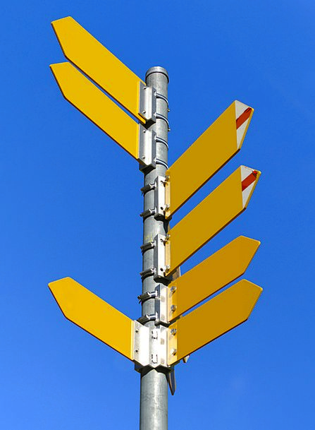 Signposts Signs Almanac Path Direction Directory P