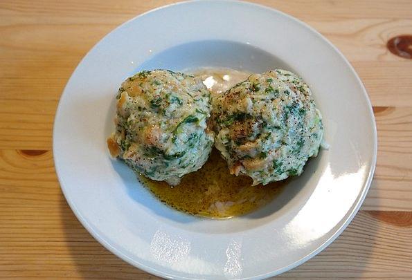 Spinach Dumplings Drink Food Specialty Field Dumpl