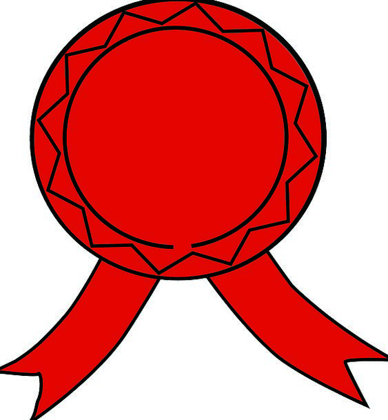 Badge Fashion Bloodshot Beauty Emblem Red Win Devi