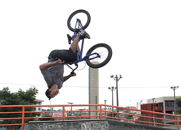 Bike Motorbike Winding Bmx Looping