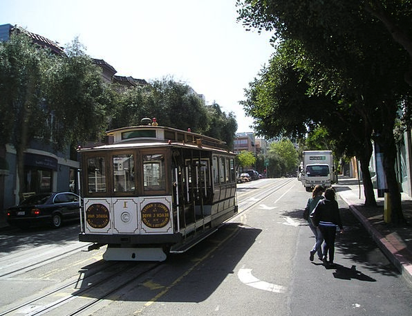 Tram Francisco San Francisco California Usa