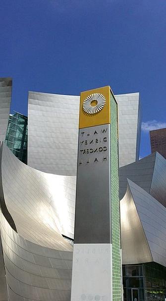 Walt Disney Concert Hall Buildings Structure Archi