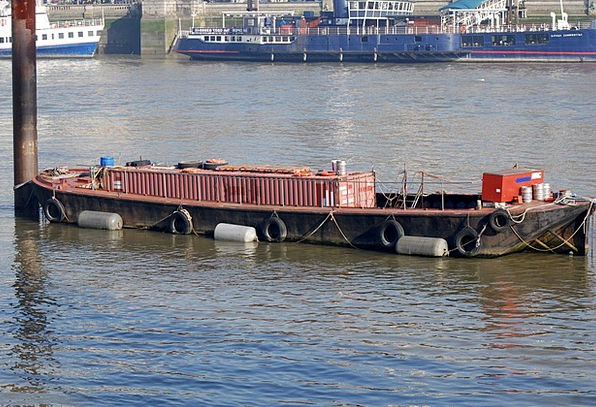 Barge Rush Storing Container Ampule Storage River