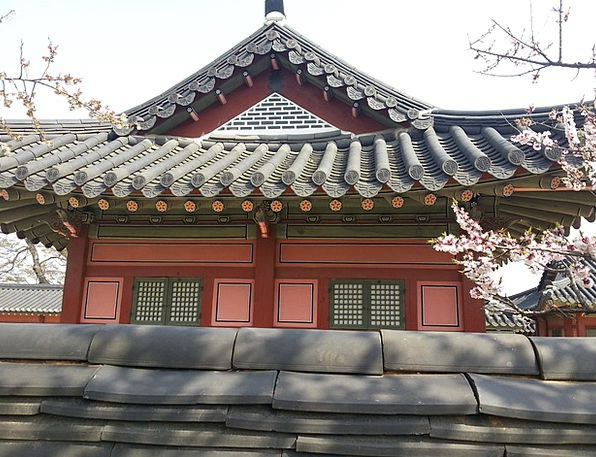 Republic Of Korea Traditional Building Hanok