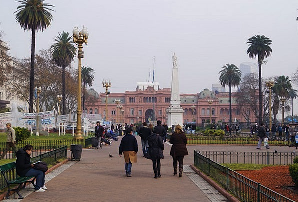 Buenos Aires Casa Rosada Argentina