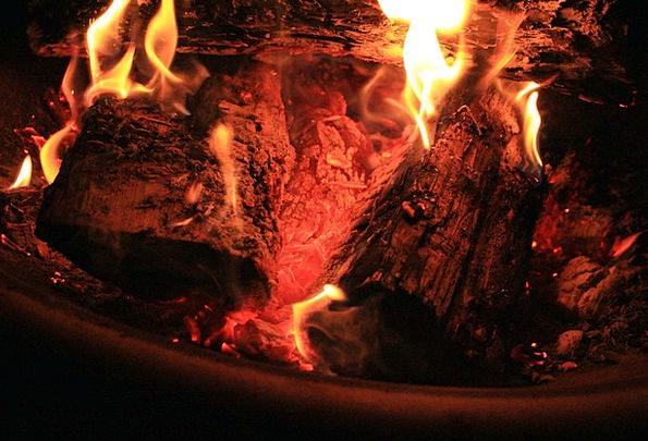 Fire Passion Fire Pit Bonfire Burning Campfire War