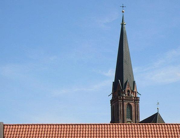 Lüneburg Rooftops Church Ecclesiastical Roofs Buil
