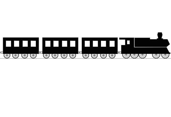 Railway Traffic Transportation Wagon Carriage Loco
