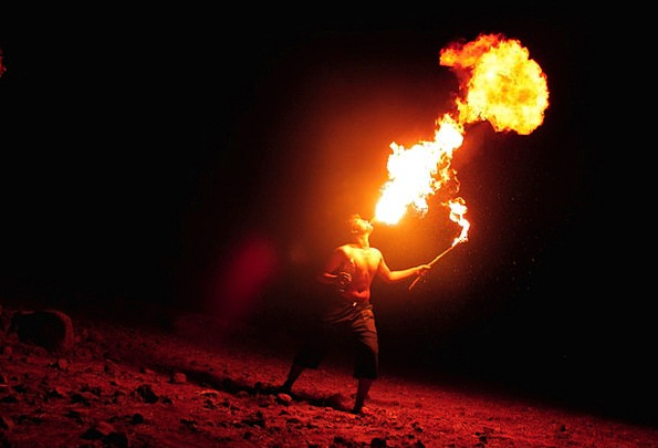 Breathing Fire Fire Passion Fire-Eater Energy Art