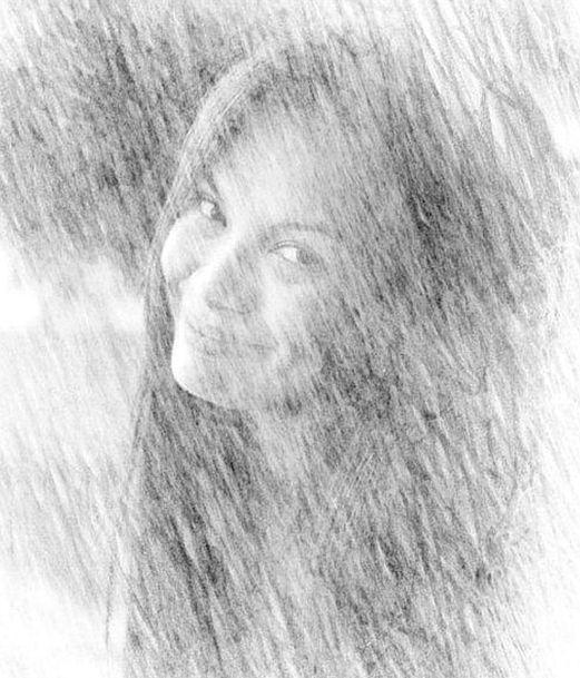 Girl Lassie Smile Beam Lady Woman Portrait Face Re