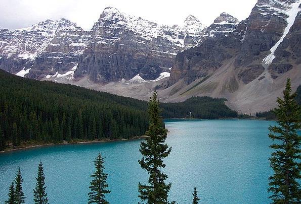 Moraine Lake Vacation Travel Canada Banff Nature C