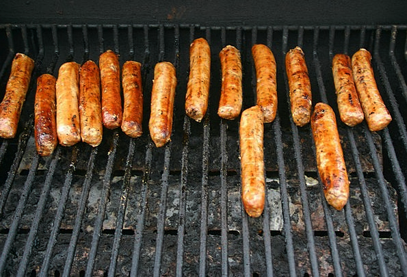 Sausages Drink Grill Food Meat Essence Barbeque Fo