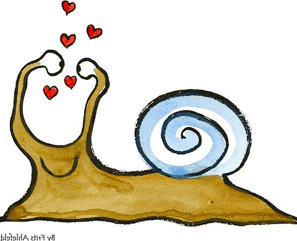 Snail Emotion Animal Physical Heart Powerpoint Fun