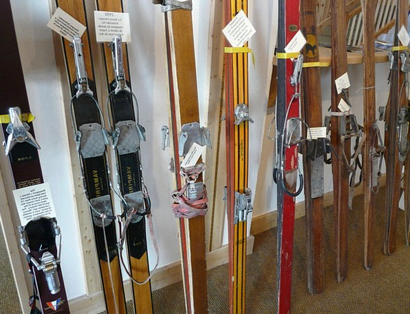 Ski Monuments Places Ski History Wooden Skis Histo