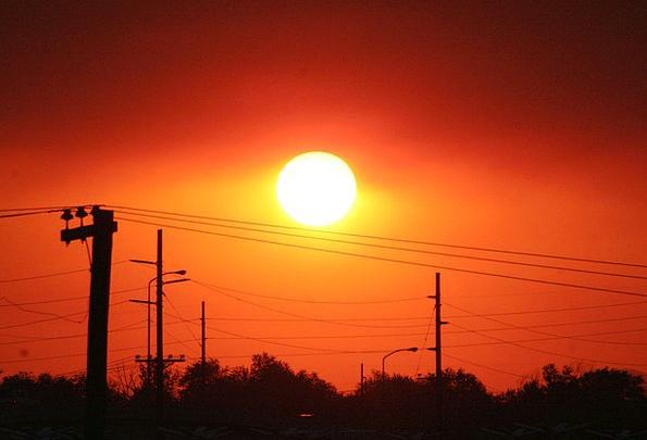Sunset Sundown Vacation Travel Smoky Air Sun Meteo