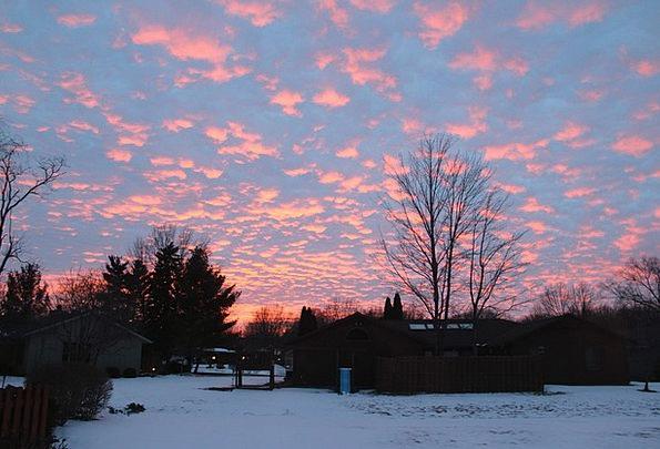Winter Season Vacation Sundown Travel Outdoor Outs