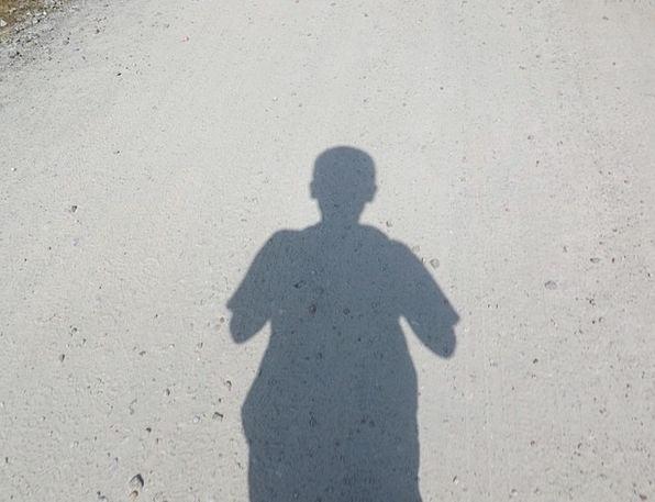 Shadow Gumshoe Trail Boy Lad Path Silhouette Perso