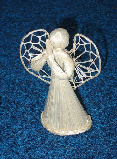 Angel Seraph Grass Decoration Beautification Straw
