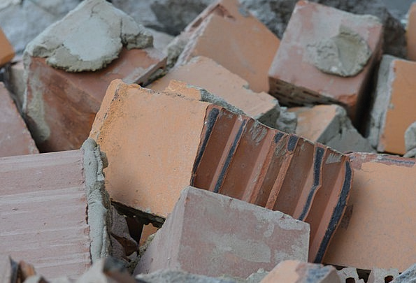 Bricks Elements Gravels Building Blocks Stones Dem