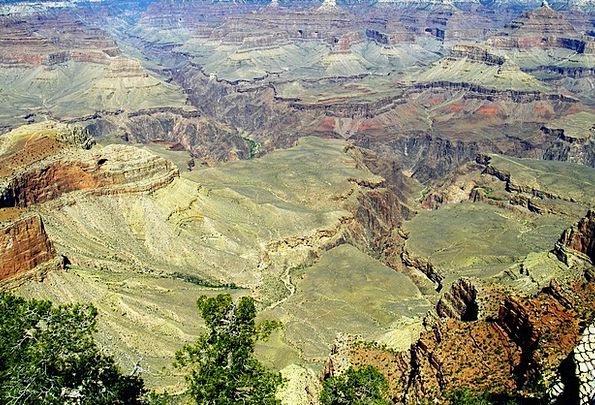 Grand Canyon Landscapes Nature Landscape Aerial Vi