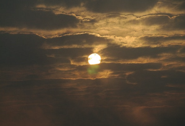 Morning A.m. Dawn Cloud Mist Sunrise Solar Astral