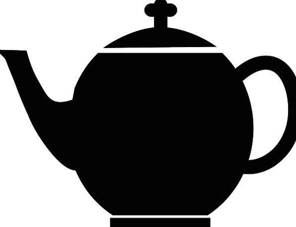 Teapot Drink Black Dark Tea Café Pot Vessel Cups K