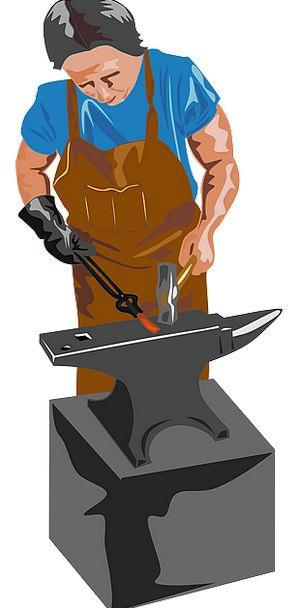 Blacksmith Craft Industry Profession Occupation Eq