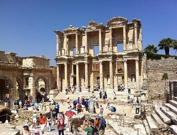 Ephesus Monuments Antiquity Places Turkey Ancient
